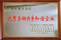 广西优秀和谐企业